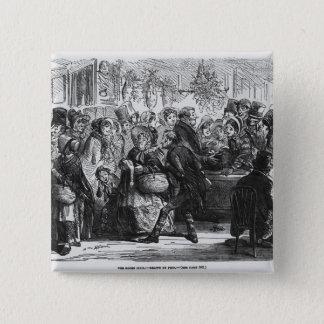 Gåsklubben Standard Kanpp Fyrkantig 5.1 Cm