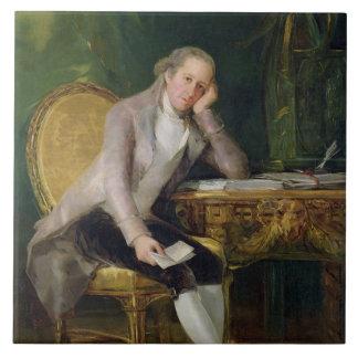 Gaspar Melchor de Jovellanos, 1797-98 (olja på can Kakelplatta
