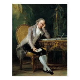 Gaspar Melchor de Jovellanos av Francisco Goya Vykort