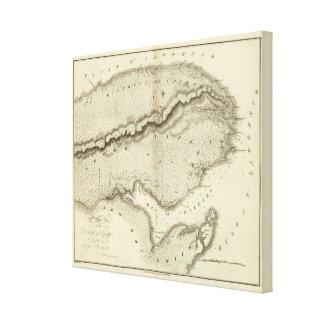 Gaspe peninsula canvastryck