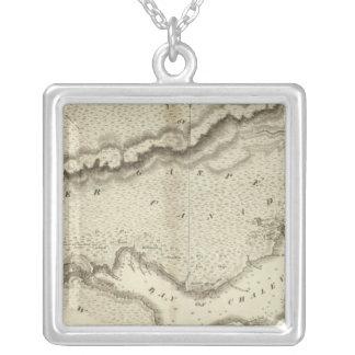 Gaspe peninsula silverpläterat halsband