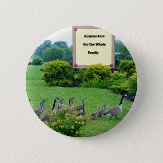 Gäss för akupunktur standard knapp rund 5.7 cm