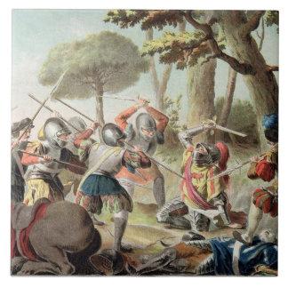 Gaston de Foix (1488-1512) som dräpas på striden a Kakelplatta