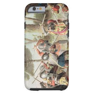 Gaston de Foix (1488-1512) som dräpas på striden Tough iPhone 6 Fodral