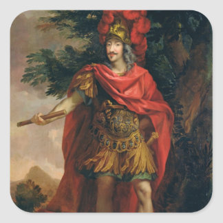 Gaston de Frankrike Hertig av Orleans Fyrkantigt Klistermärke