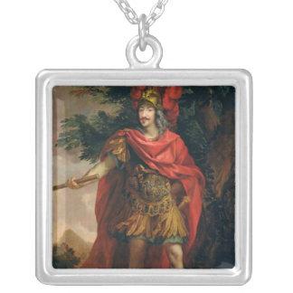 Gaston de Frankrike Hertig av Orleans Silverpläterat Halsband