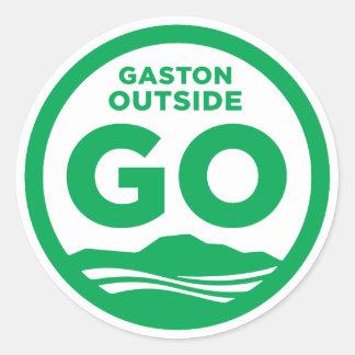 Gaston utanför klistermärke