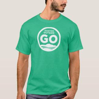 Gaston utanför T-tröja (grönt) T Shirts