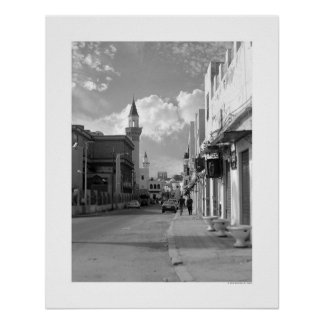 Gata i Tripoli (B&W) Poster
