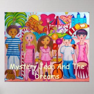 Gåta Jean och drömaffischen Poster