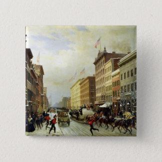 Gataplats i New York Standard Kanpp Fyrkantig 5.1 Cm