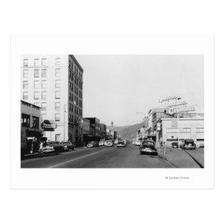 Gataplatsen i Aberdeen, WA fotograferar Vykort
