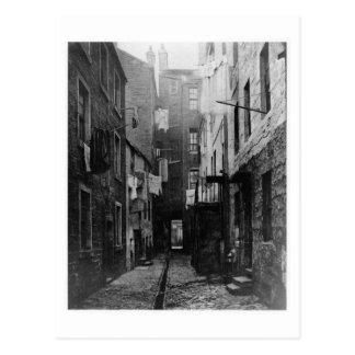 Gator av Glasgow Skottland 1868 Vykort