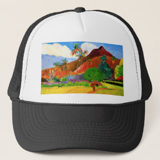 Gauguin berg i Tahiti Keps