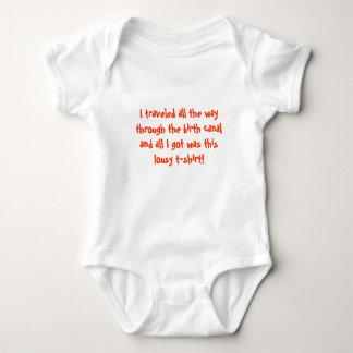 Gåva för baby shower rolig för bebist-skjorta tröja