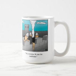 Gåva för brevbärarehumormugg kaffemugg