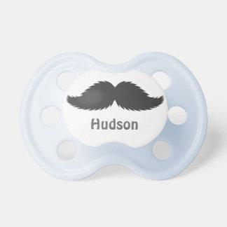 Gåva för gåva för mustasch för personligpojkedusch napp för baby