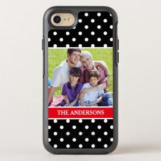 Gåva för helgdag för familjfotoporträtt OtterBox symmetry iPhone 7 skal