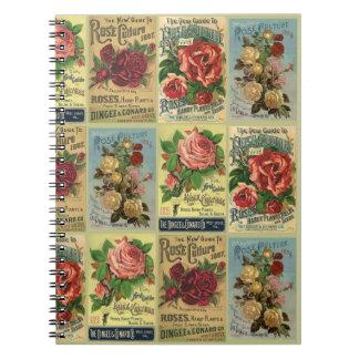Gåva för journal för trädgård för kultur för anteckningsbok