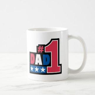 Gåva för pappa #1 kaffe kopp