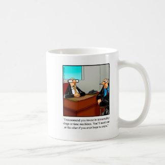 Gåva för pensionhumormugg kaffemugg