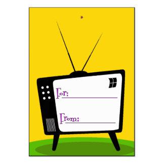 Gåvamärkre - Retro TV Visitkort