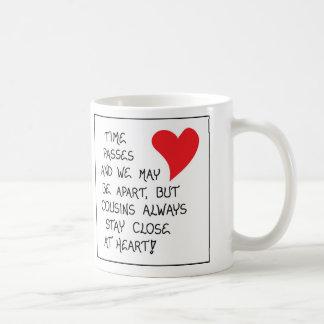 Gåvamugg för kusiner kaffemugg