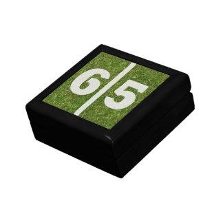 gåvan för smycken för 65efödelsedagfotboll boxas prydnadslådor
