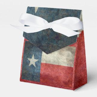 Gåvan för stil för Texas statlig flaggavintage Presentaskar