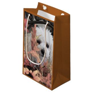 Gåvan för thanksgivingpudelhunden hänger lös