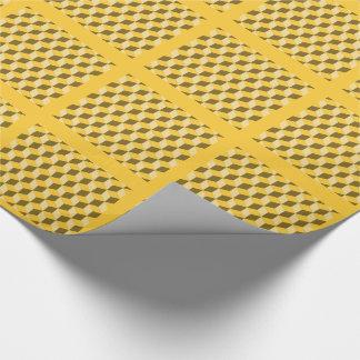 Gåvasjalen - lappar av tredimensionella kvarter presentpapper