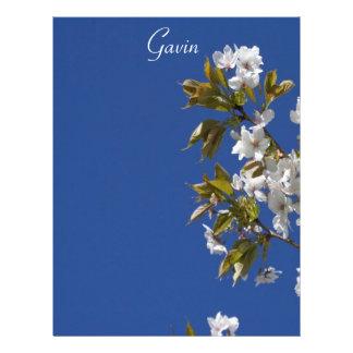 Gavin blommarbrevhuvud brevhuvud