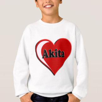 Gåvor för Akita hjärtahund älskare T Shirt