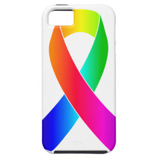 Gåvor för band för pridemedvetenhetregnbåge iPhone 5 fodraler