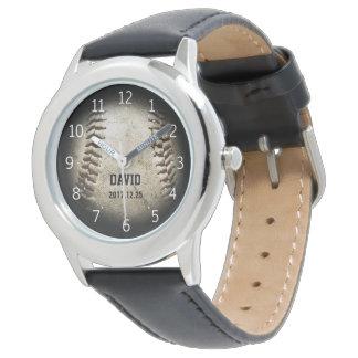 Gåvor för coola för baseballboll | armbandsur