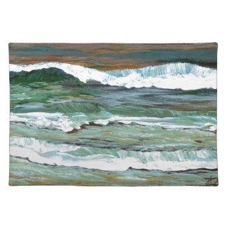 Gåvor för dekor för konst för surfa för vågar för bordstablett
