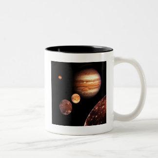 Gåvor för för Jupiter Galilean måneastronomi & Två-Tonad Mugg