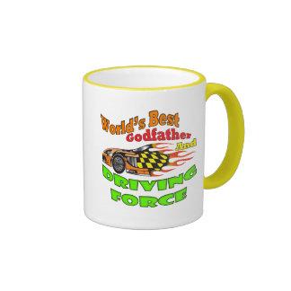 Gåvor för gudfaderdrivkraftfars dag kaffe muggar