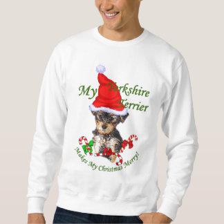Gåvor för jul för Yorkshire Terrier Sweatshirt