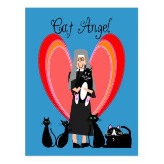 Gåvor för konst för nunnakattängel vykort