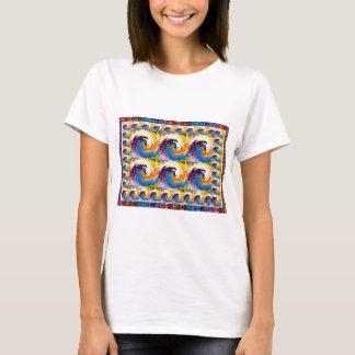 Gåvor för rörelse för cirkulär för orkan för tee shirt