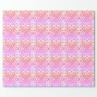 Gåvor för samling för hjärtaälskling rosa presentpapper