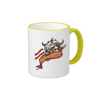 Gåvor för skallegudfaderfars dag kaffe koppar