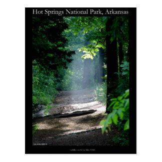 Gåvor för slinga för Hot Springs nationalpark döda Vykort