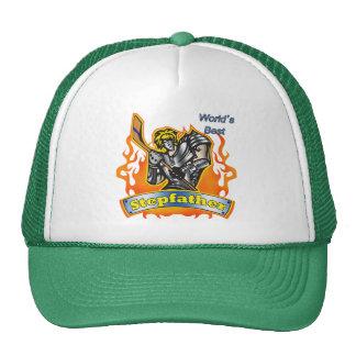 Gåvor för styvfarhockeyfars dag baseball hat