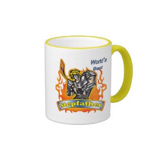 Gåvor för styvfarhockeyfars dag kaffe koppar