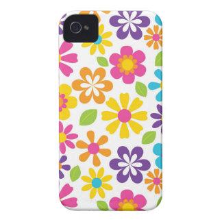 Gåvor för tonåringar för regnbågeflower iPhone 4 case