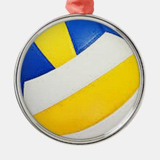 """Gåvor och produkter """"för salvaboll"""" design rund silverfärgad julgransprydnad"""
