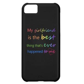 """Gay pride - """"är min flickvän """", iPhone 5C fodral"""