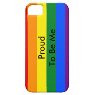 Gay pride iPhone 5 cover